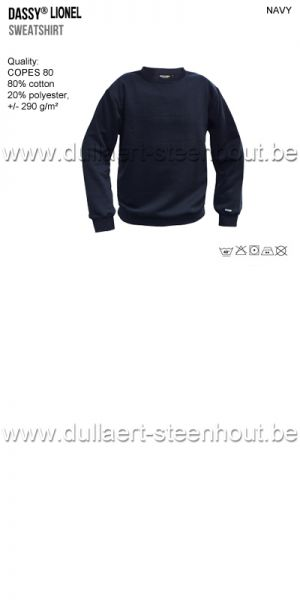 DASSY® Lionel (300449) Sweat-shirt - marine