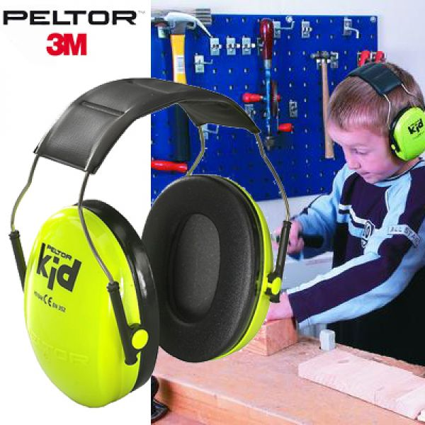 Peltor H540AK-442-GB Casque enfant anti-bruit