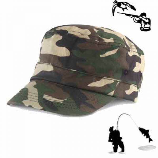 Result Casquette militaire Army green