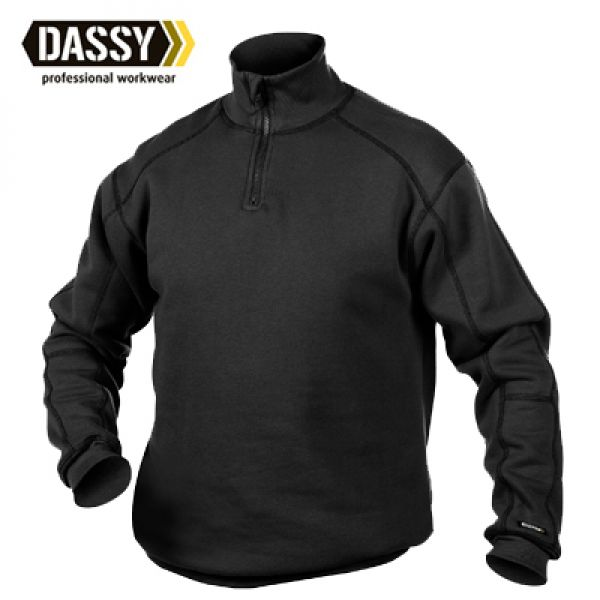 Dassy - Sweat-shirt Felix - noir