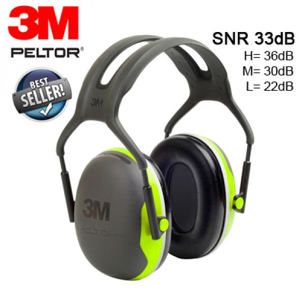 3M™ Peltor™ X Series Casque antibruit professionel