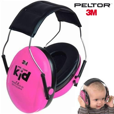 Peltor H540AK-442-RE Casque enfant anti-bruit